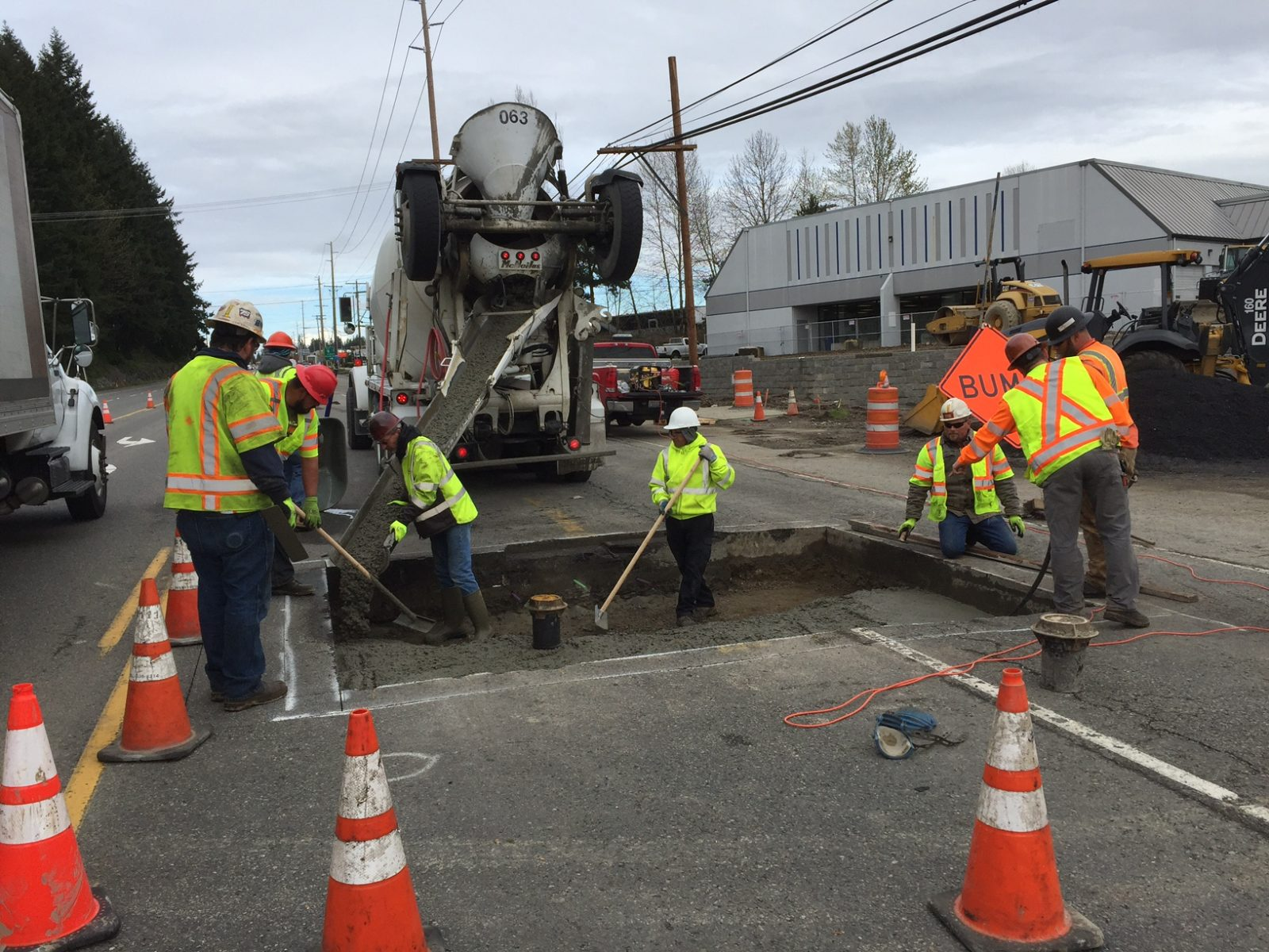 Aa Asphalting Inc : Utility pavement repairs for snohomish county wa